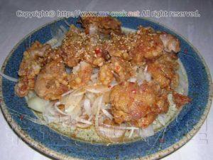 本格中華レシピ油淋鶏