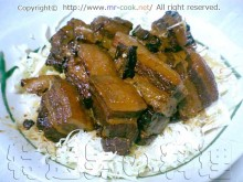 中華風豚の角煮