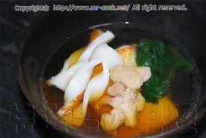 カツオ出汁の雑煮