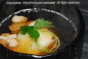 鶏出汁の雑煮