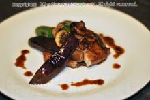 イベリコ豚のソテー マデラソース