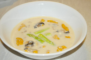 カボチャのニョッキ クリームソースの作り方