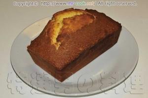 ベーキングパウダーを使わないパウンドケーキ