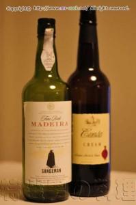 マデラ酒とシェリー酒