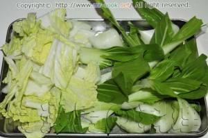 白菜とチンゲンサイ