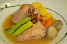 豚バラ肉のスープ
