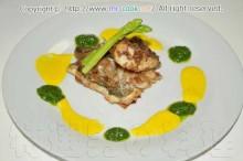 黒鯛のトロピカルフライ マンゴーソース