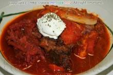 ロシアの家庭料理ボルシチ