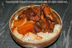 豚スペアリブの中華風煮込み