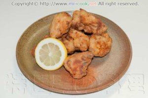 鶏の塩唐揚げ柚子胡椒風味