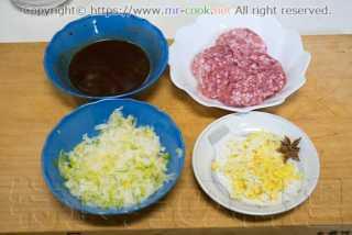 肉味噌の材料