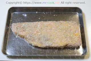 薄力粉・溶き卵・パン粉の順につける