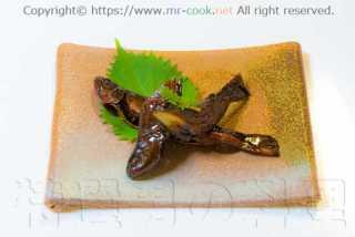 天然岩魚の甘露煮