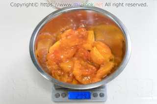 完熟柿の果実
