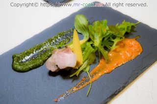 自家製ベーコンと三浦野菜のオードブル