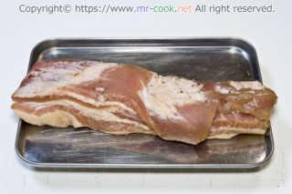 乾燥後の肉