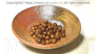 茹で上がった赤エンドウ豆