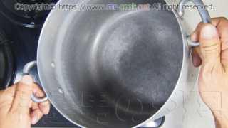 アルミ鍋の黒ずみ汚れ