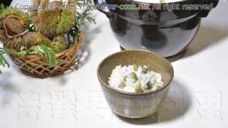 丹波黒大豆枝豆を使った枝豆ご飯
