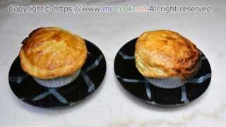 オニオングラタンスープのパイ包み